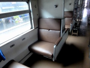 2nd class seats convert to beds