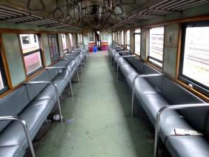 3rd Class Padded Seats