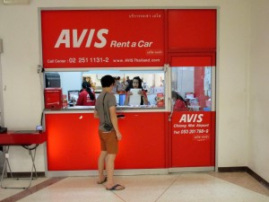 Avis Rent a car at Chiang Mai Airport