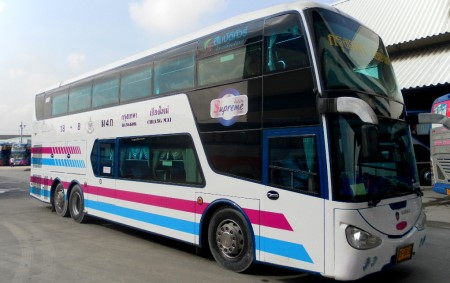 photo of a Bangkok to Chiang Mai bus