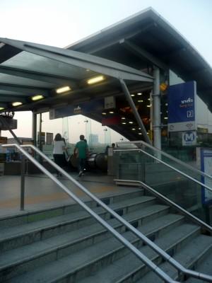 Subway Exit at Bang Sue