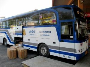 Bus from Chiang Mai to Luang Prabang
