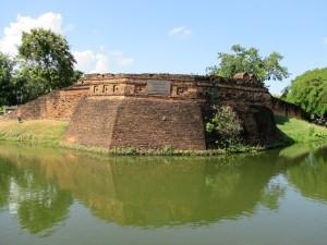 Chiang Mai City Moat and Wall