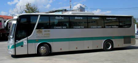 photo of a Chiang Mai to Chiang Rai Bus