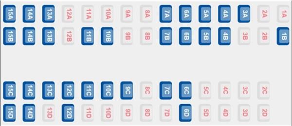 ETS 9204 - Coach A Seat Plan