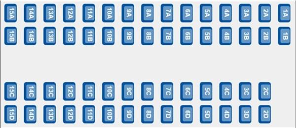 ETS 9222 - Coach A Seat Plan