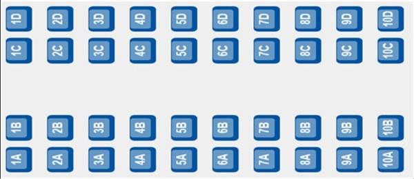 ETS 9420 - coach D seating plan