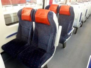 Gold Class ETS Train Seats