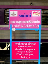 Ladies and children car train 1