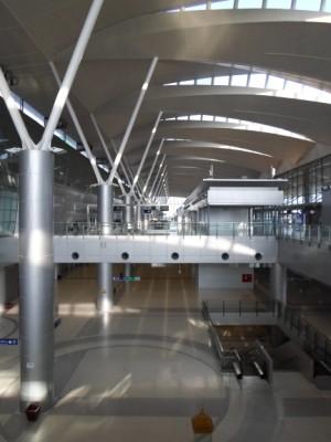 The airport city terminal at Makkasan