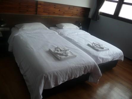 A Guest Room at the At One Hotel Bangkok