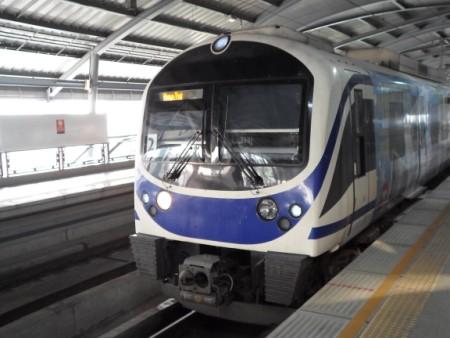 Photo of an SA city line train