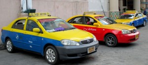 Taxis in Chiang Mai
