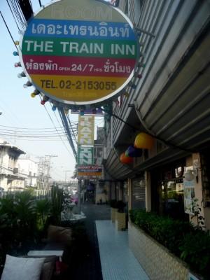 Train Inn Hotel in Hualamphong Bangkok