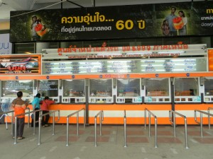The Transport Company counters at Mo Chit