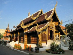 Wat Inthakhin Saduemuang inside the Old City in Chiang Mai