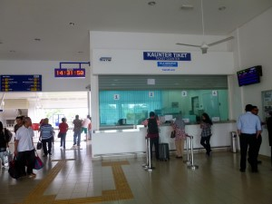 Alor Setar Station Ticket Counters