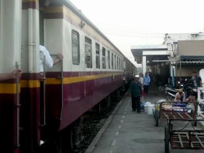 North Bound platform at station 1