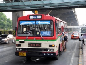 bus 29 to Hualamphong station