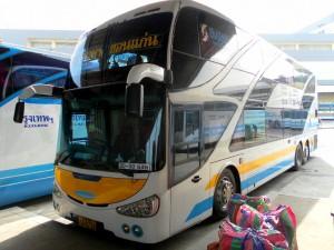 bus at Bangkok Northern Bus Terminal