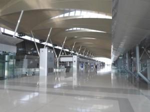 The empty terminal at Makkasan