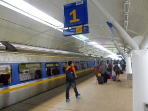 ETS Train at Alor Setar Station