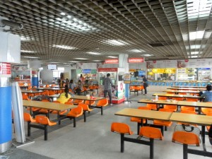 food court at Mo Chit bus station