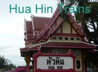 Click for Trains from / to Hua Hin Thailand