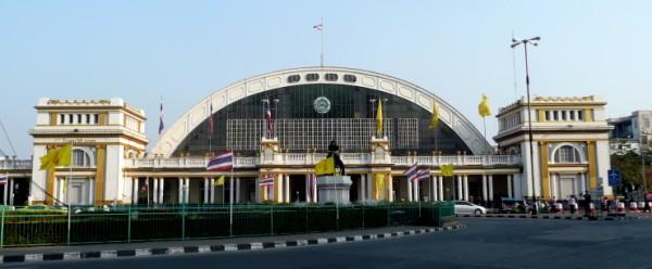 Photo of Hua Lamphong Railway Station in Bangkok Thailand