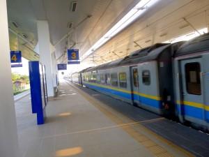 Langkawi Express Train at Arau station
