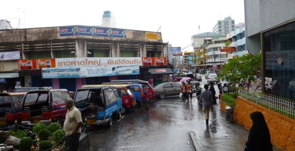 Photo of Hat Yai as you exit from the station