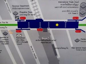 Phaya Thai Area Map