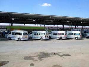 Minibus centre at Mo Chit