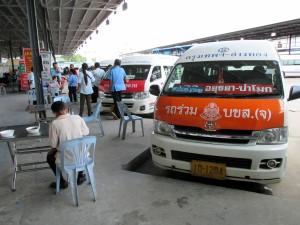 Minibus to Ayutthaya