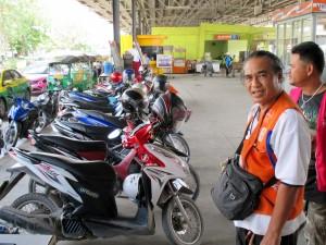 Motorbike Taxi lane