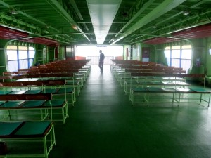 Seats onboard the Butterworth to Penang Ferry