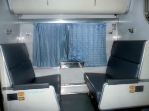 2nd class seats on train 36