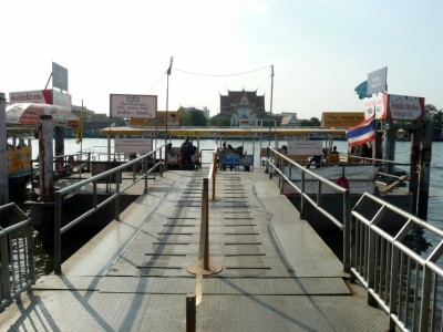 Photo of Tha Chang Pier in Bangkok