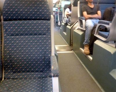 seats on the KLIA Express Train