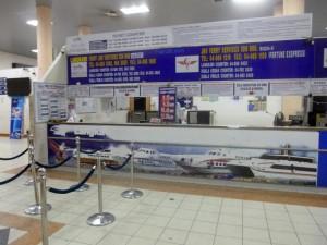 Ticket Counter at Kuala Kedah Ferry Terminal