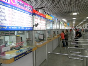 Ticket counters for Isaan