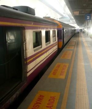 Train 35 at Padang Besar Station