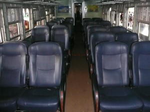 A 2nd Class Fan Seat Coach