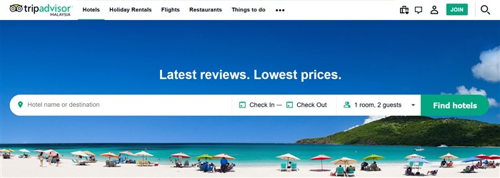 To visit Tripadvisor's website click here >>>