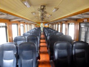2nd class seat carriage