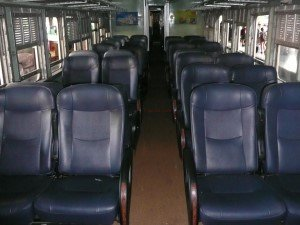 2nd Class Fan Seat Carriage