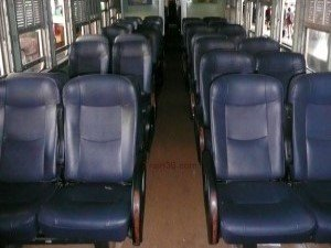 Second class Air-conditioned Seat