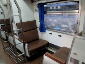 2nd Class Day and night seats that convert in to comfortable beds