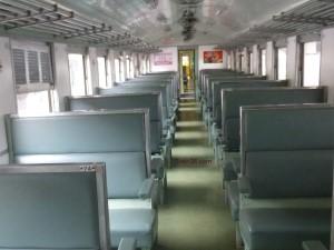 3rd Class Fan Seat Train Coach