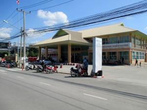 Arcade bus station terminal 3